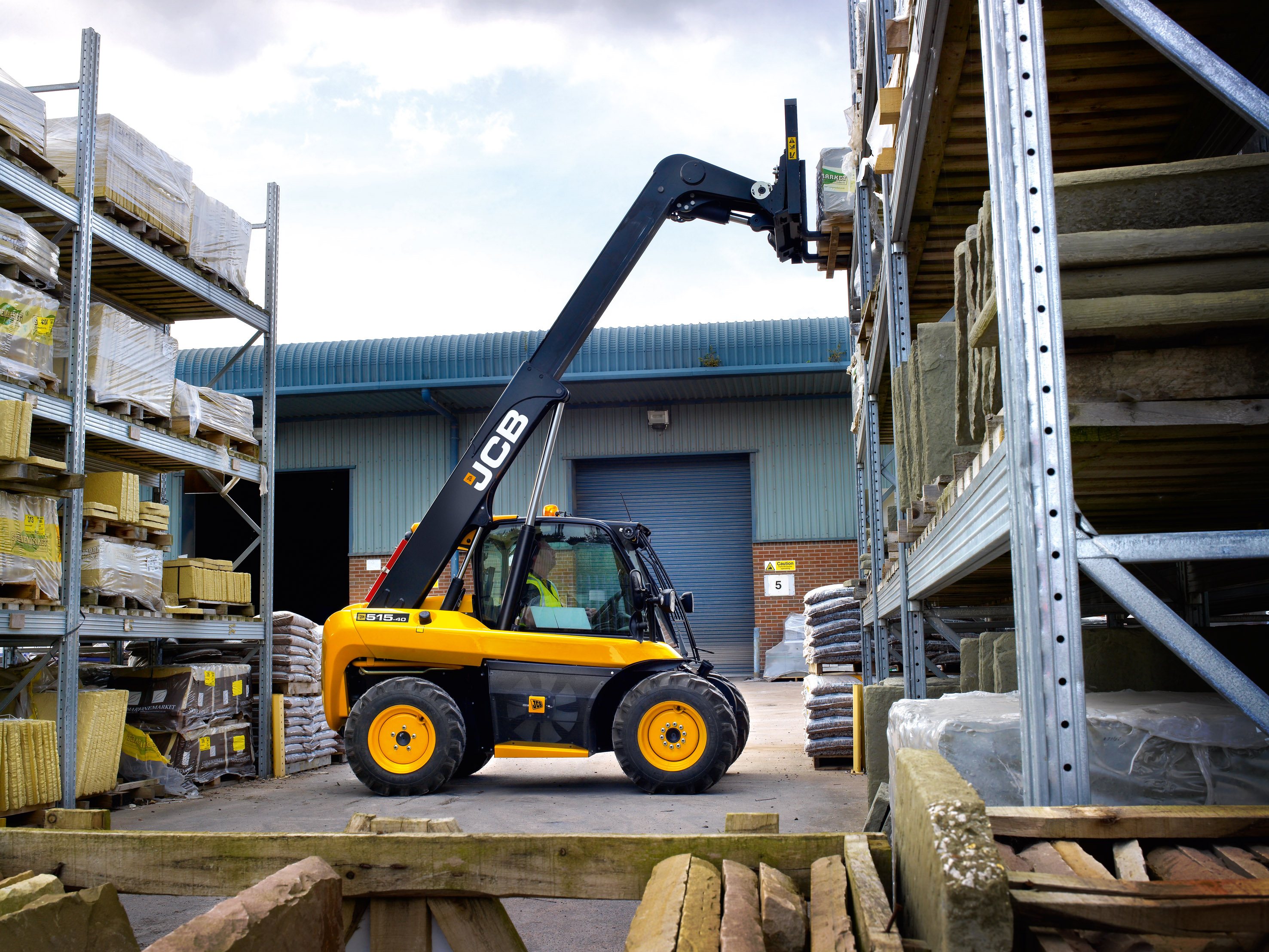 JCB Launches New 51540 Compact Telescopic Handler  The Dirt